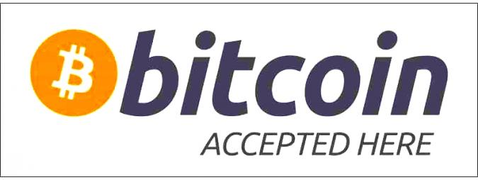 BIT COIN ACCEPTED on LULU LIGHTNING ARTwebSHOP